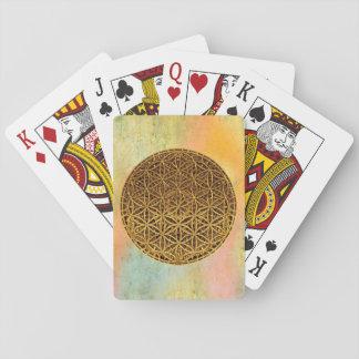 Bloem van het Leven/Blume des Lebens - Speelkaarten