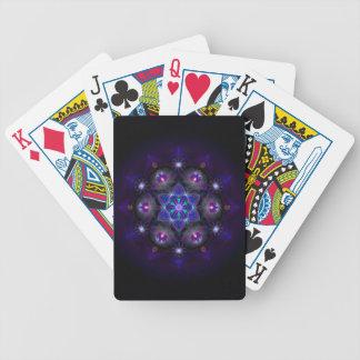 Bloem van het Leven Mandala Poker Kaarten