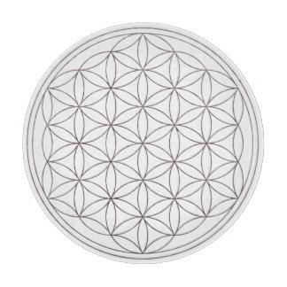 Bloem van het Net van het Kristal van het Leven Snijplank