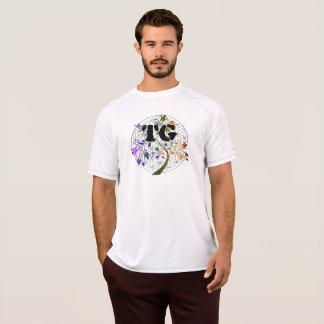Bloem van het Overhemd Dri TG van het mannen de T Shirt