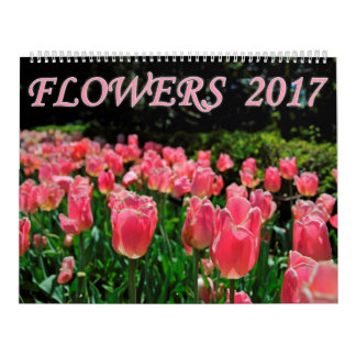 Bloemen 2017 kalender