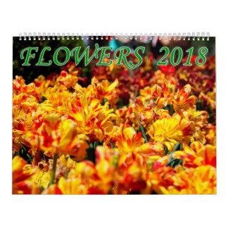 Bloemen 2018 kalender