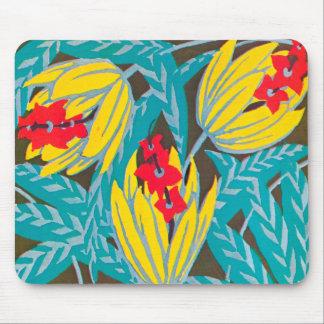 Bloemen Art deco Mousepad #2 Muismat