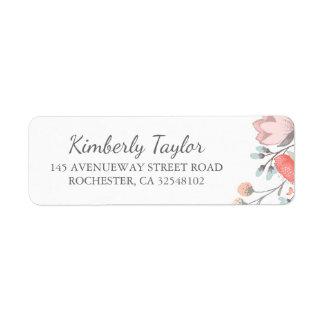 bloemen bloos roze huwelijk etiket