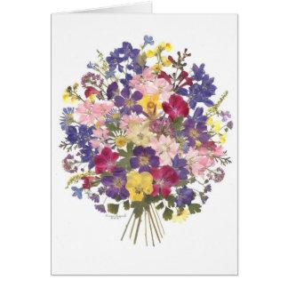 bloemen boeket al gelegenheidskaart briefkaarten 0