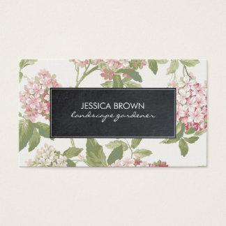 bloemen botanisch hydrangea hortensiavisitekaartje visitekaartjes