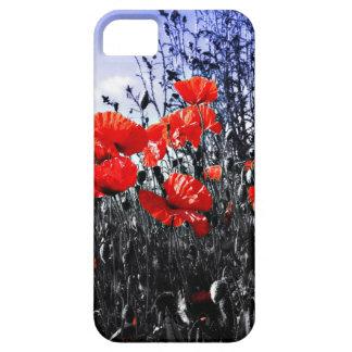 Bloemen de papaverbloem van papavers barely there iPhone 5 hoesje