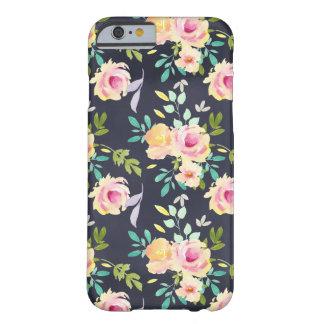 Bloemen de telefoonhoesje van de perzik en van de barely there iPhone 6 hoesje