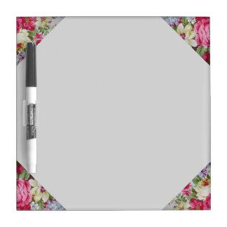 Bloemen-droog wis Raad Dry Erase Whiteboard