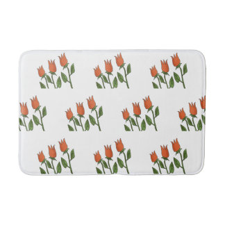 Bloemen Elegant van de Tulpen van de Lente van de Badmat