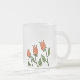 Bloemen Elegant van de Tulpen van de Lente van de Matglas Koffiemok