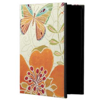 Bloemen en Vlinders iPad Air Hoesje