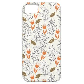 Bloemen en Vogels Neutrale Phonecase Barely There iPhone 5 Hoesje