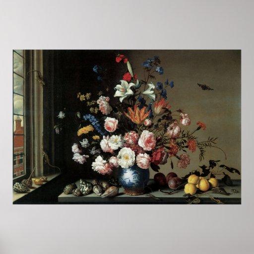 Bloemen Fijne Kunst met het Poster van Lillies van