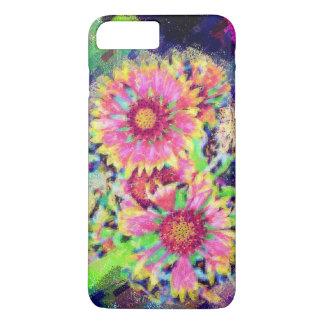 Bloemen iphone7 taai hoesjeontwerp iPhone 8/7 plus hoesje