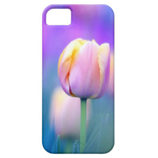 Bloemen iPhone 5 van de Tulp Dekking Barely There iPhone 5 Hoesje