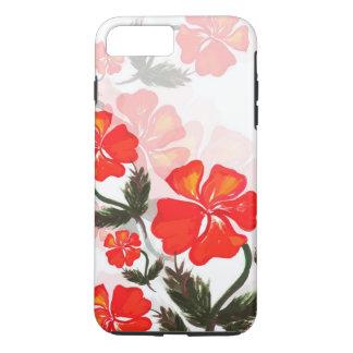 Bloemen iPhone 7 van Apple plus, het Taaie Hoesje