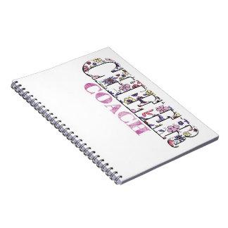 Bloemen juich busNotitieboekje toe Ringband Notitie Boek