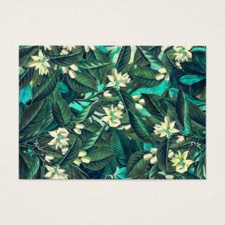 bloemen kaart visitekaartjes