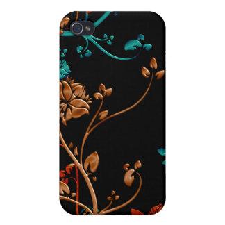 Bloemen Klantgerichte Vector - iPhone 4/4S Case