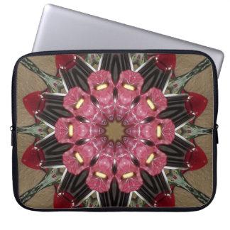 Bloemen Laptop van de Caleidoscoop Sleeve