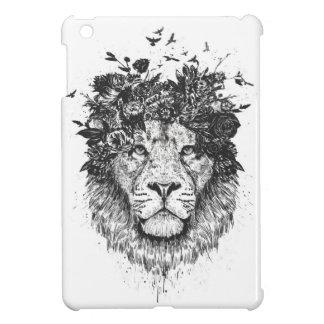 Bloemen leeuw iPad mini cases