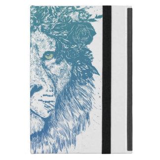 Bloemen leeuw iPad mini hoesje