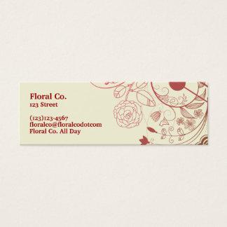 Bloemen Mini Visitekaartjes