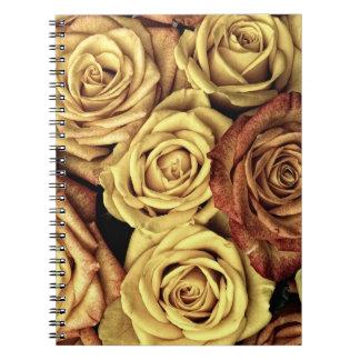 Bloemen Notitieboekje Ringband Notitieboek