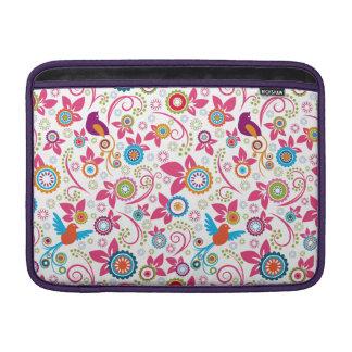 """Bloemen Patroon 13"""" Sleeves voor de Lucht van MacBook Air Beschermhoes"""