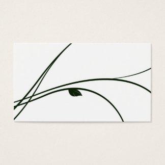 Bloemen Reeks - 02 - Wit/Groen Visitekaartjes