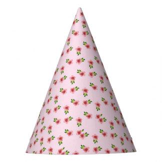 Bloemen Roze Feesthoedjes