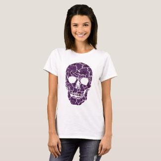 Bloemen Schedel T Shirt