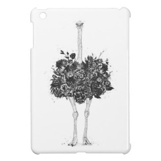 Bloemen struisvogel iPad mini covers