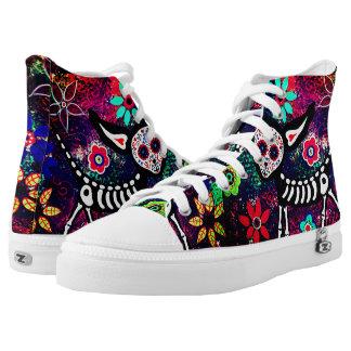 bloemen unisex- hoge het topjeschoenen van het high top schoenen