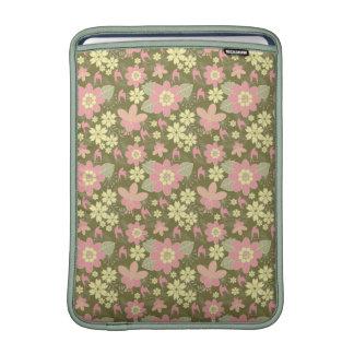 Bloemen van de Lucht van MacBook van het Sleeve MacBook Air Beschermhoes