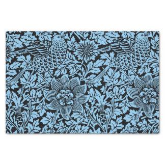 Bloemen van de Vogel van het Patroon van William Tissuepapier