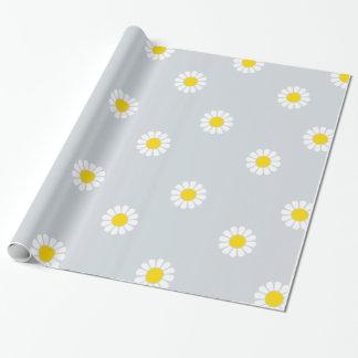 Bloemen Verpakkend Document Cadeaupapier
