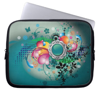Bloemen & Vlinders Laptop Sleeve