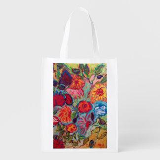 Bloemen voor Jenna Herbruikbare Boodschappentas