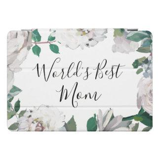 BloemenHoesje van de Mooie Waterverf van het Mamma iPad Pro Hoesje