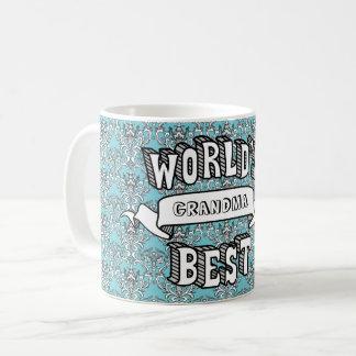 BloemenMok van de Tekst van de Typografie van de Koffiemok