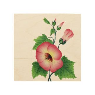 Bloemrijk Houten Canvas Print