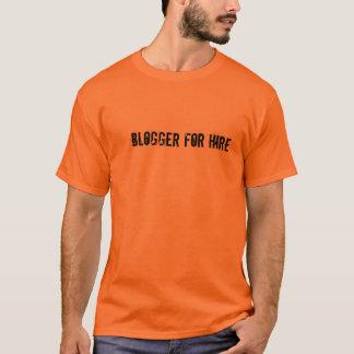 Blogger voor het Overhemd van het T-shirt van de