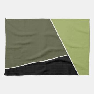Blok van de Tendens van de Kleur van de salie & va Handdoeken