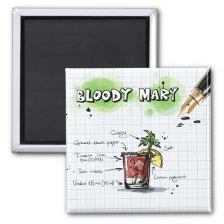Bloody mary magneet