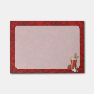 Bloody mary post-it® notes