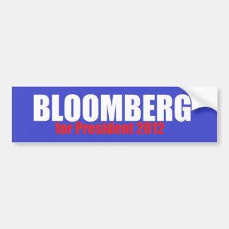 Bloomberg 2012 bumpersticker