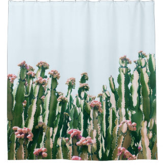 Bloos Cactus Gordijn 0