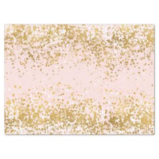 Bloos de Roze Fonkeling van de Confettien van het Tissuepapier